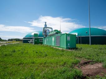 Биогазовая станция «Актюба» в Республике Татарстан