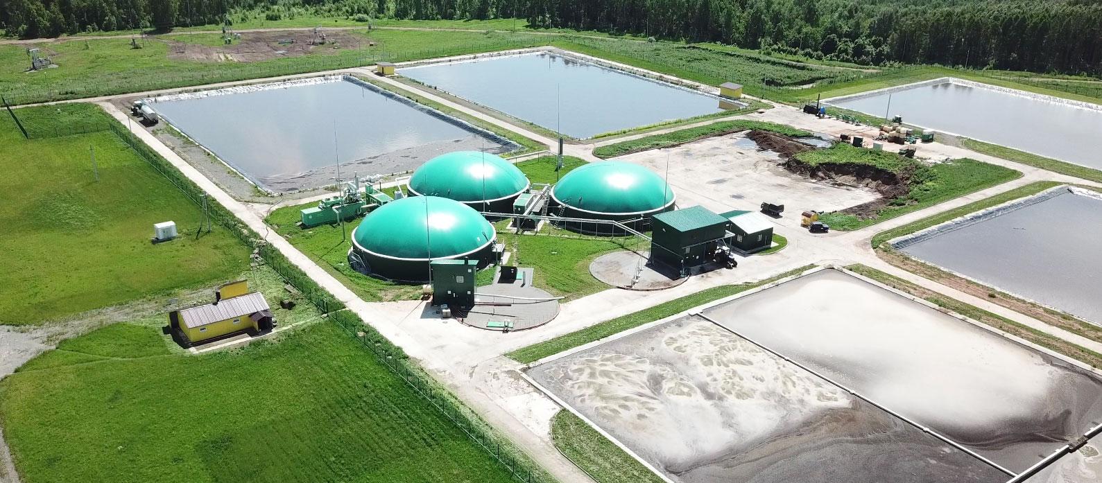 биогазовая станция для получения биогаза